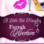A LITTLE BIT NAUGHTY book cover design