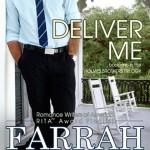 DELIVER ME book cover design