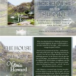 THE HOUSE ON THE SHORE postcard design