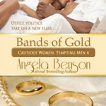 BANDS OF GOLD book cover design