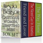 Cautious Women, Tempting Men Series boxed set design