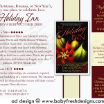 Advertisement Design for THE HOLIDAY INN