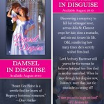 DAMSEL IN DISTRESS bookmark design