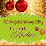 A PERFECT HOLIDAY FLING book cover design