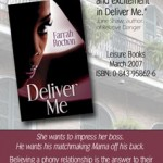 Advertisement Design for DELIVER ME