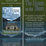 THE HOUSE ON THE SHORE bookmark design