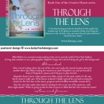 THROUGH THE LENS postcard design