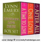 Louisiana Love Series boxed set design