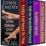 Louisiana Love Series: City Girls boxed set design