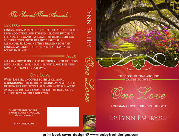 Love Book Cover Ideas : Book cover for one love by lynn emery fresh designs