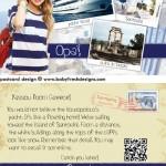 PAPARAZZI postcard design