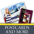 Browse all the Postcard, Ad, Business Card and Collector Card designs
