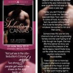 SEDUCTION'S CANVAS bookmark design