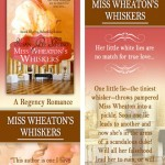 MISS WHEATON'S WHISKERS bookmark design