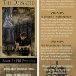 THE DEPARTED bookmark design