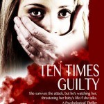 Book cover design for Ten Times Guilty