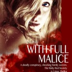 Book cover design for With Full Malice